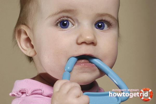 Как понять, что режутся зубки у малыша