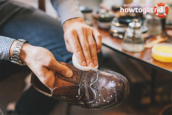 Как правильно мыть кожаную обувь