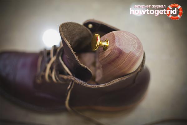 Как правильно сушить кожаную обувь