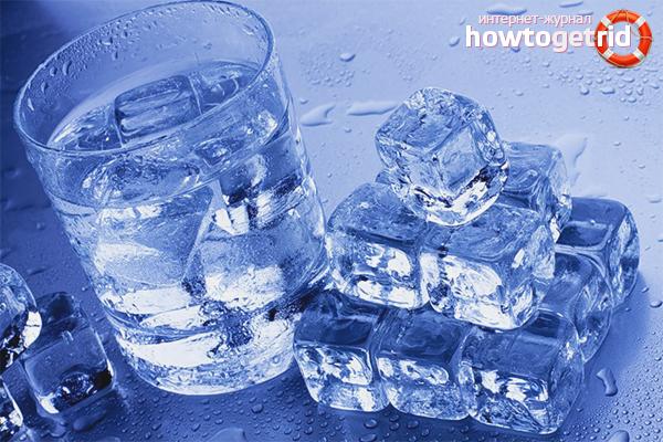 Как приготовить талую воду