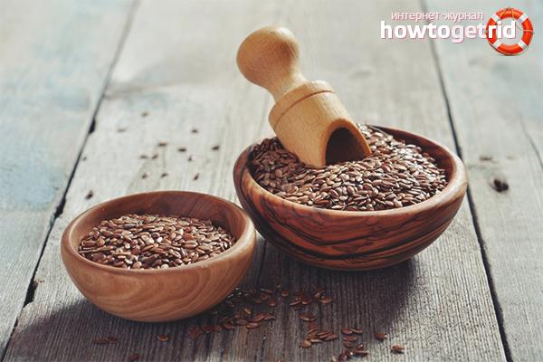 Как принимать семена льна для очищения кишечника