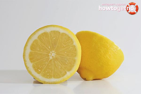 Как смыть краску с волос при помощи лимона