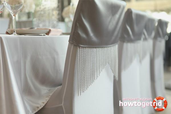 Как украсить помещение для празднования серебряной свадьбы