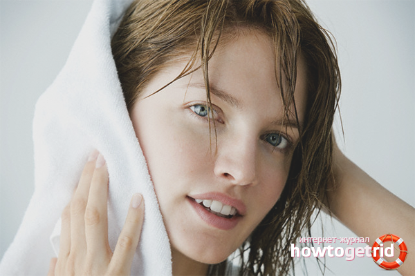 Как высушить короткие волосы без использования фена