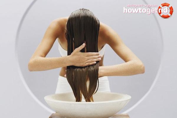 Ополаскивание волос лекарственными травами