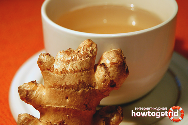 Рецепты имбирного чая для коррекции фигуры