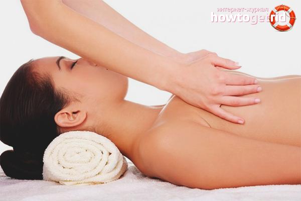 Ручной массаж груди