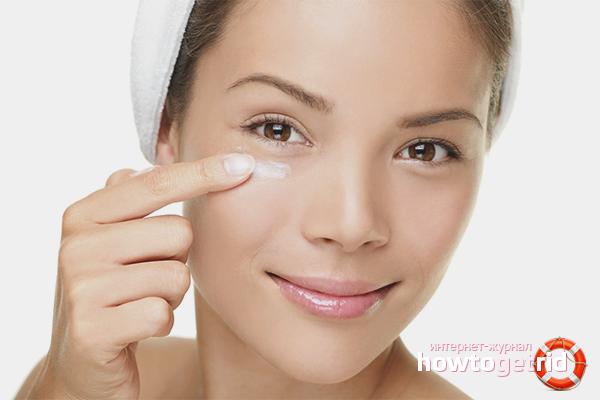 Советы по нанесению крема вокруг глаз