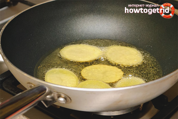 Чипсы из картофеля на сковороде