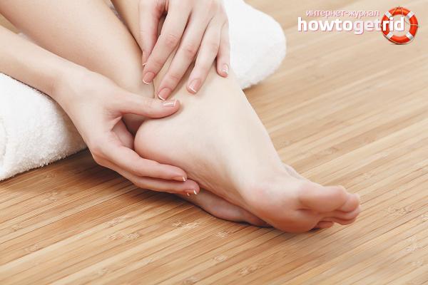 Как быстро избавиться от сухих мозолей на ногах
