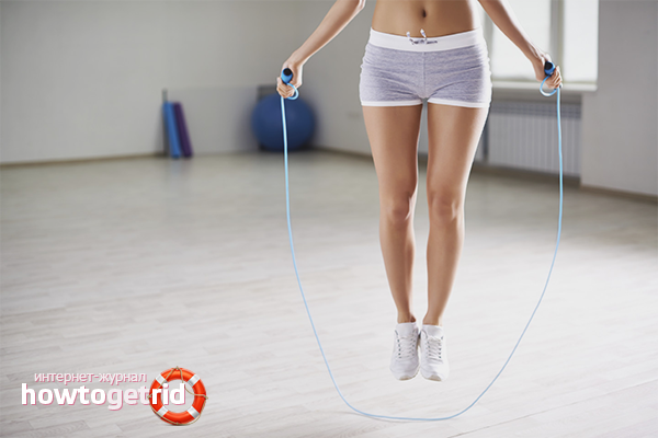 Как похудеть с помощью скакалки