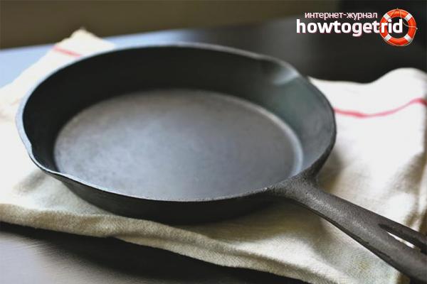Как прокаливать чугунную сковороду