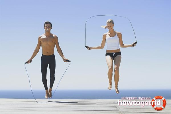 упражнения для сжигания жира теле