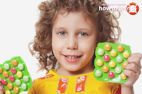 Поливитамины для детей