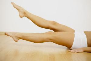 Как девушке накачать ноги