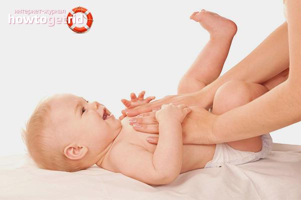 Как избавиться от коликов у новорожденных