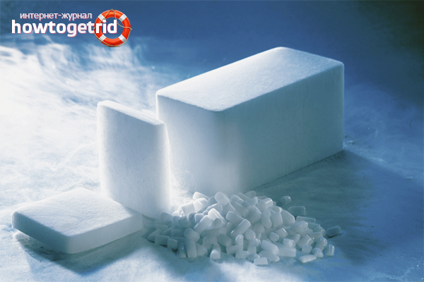 Как приготовить сухой лёд