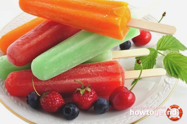 Как сделать фруктовый лед