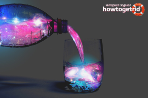 Как сделать светившийся воду из подручных средств