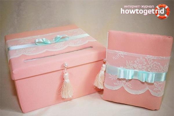 Коробка с деньгами на свадьбу