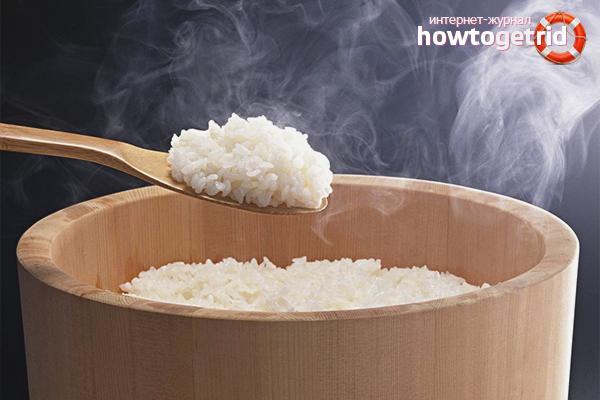 Технология приготовления риса для роллов