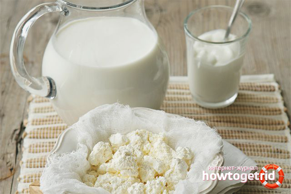 Творог из молока