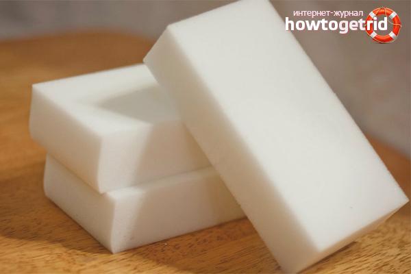 Как пользоваться меламиновыми губками