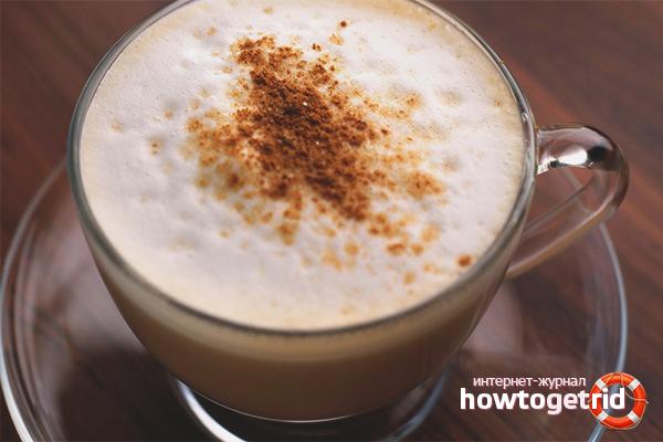 Как сделать капучино из растворимого кофе