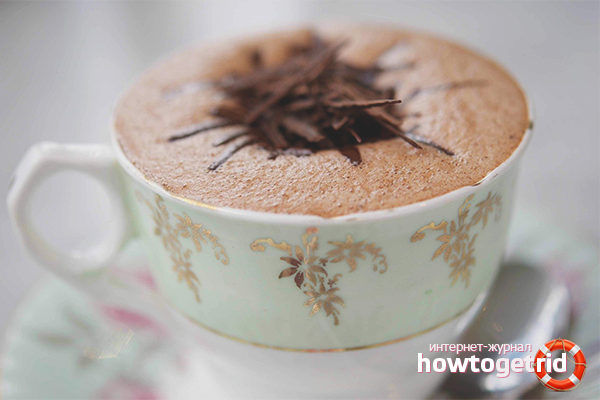 Как сделать шоколадный капучино