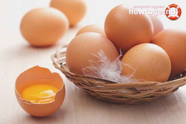 Куриные яйца от папиллом