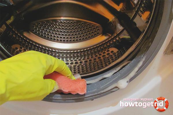 Медный купорос от плесени в стиральной машине