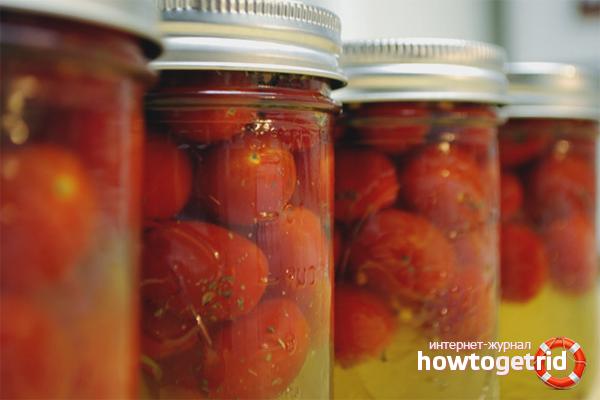 Быстрый рецепт закрутки томатов на зиму