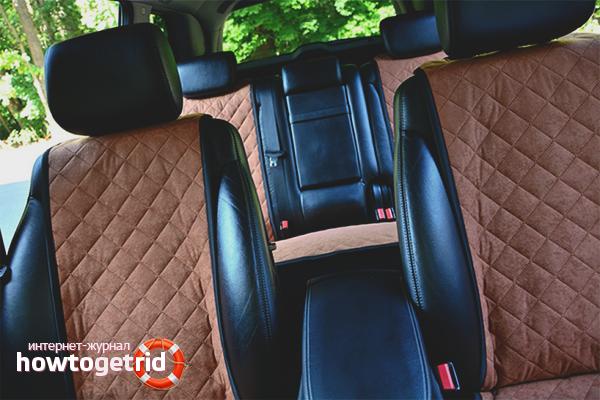 Как очистить автомобильные сиденья своими руками