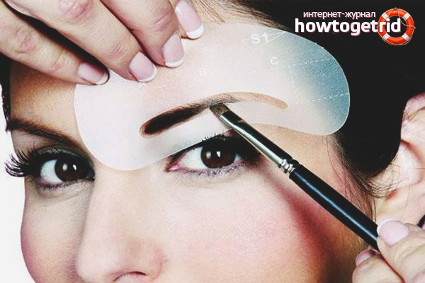 tehnologija okrashivanija brovej - Как красить брови краской в домашних условиях