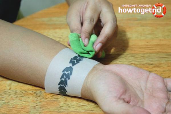 Бумага для временных татуировок