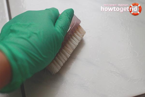 Эффективные способы очистки плитки от клея