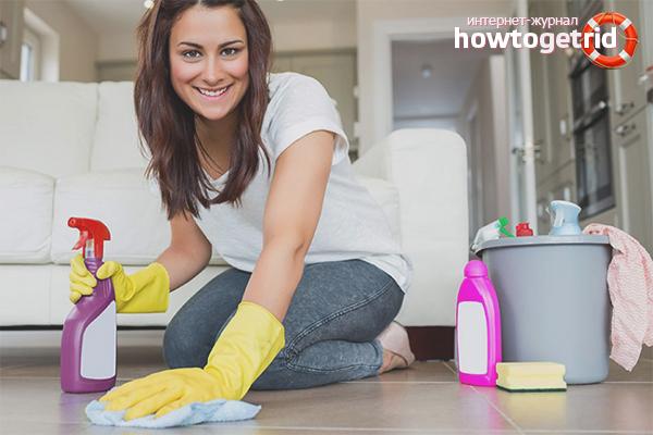 Как поддерживать чистоту и порядок в квартире