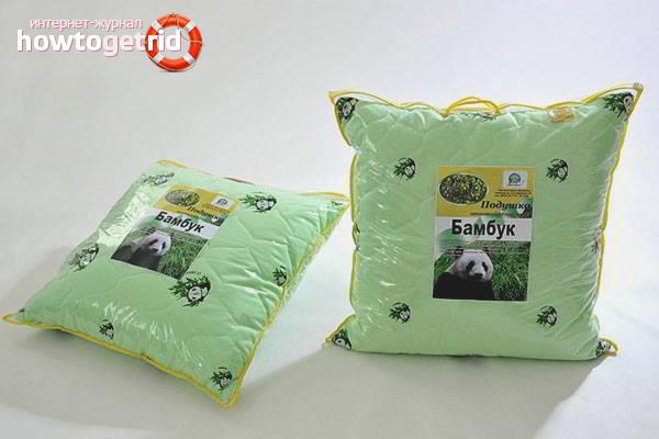 Как постирать подушку из бамбука