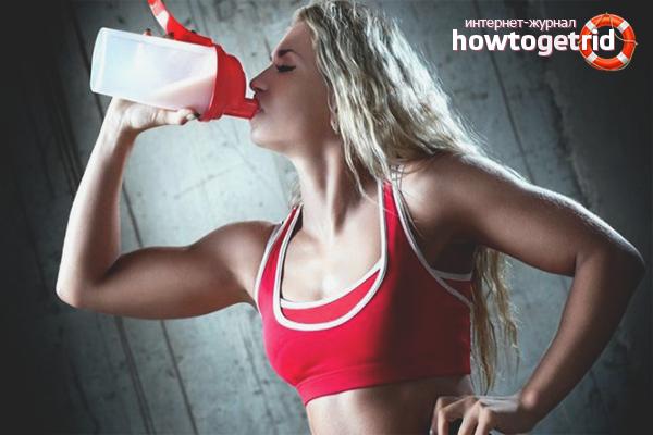 Как принимать протеин для похудения