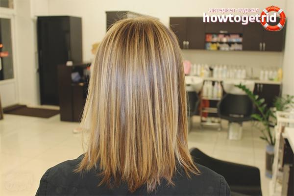 Колорирование на светлых волосах