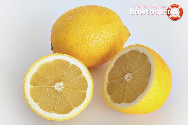 Лимон от жира в духовке