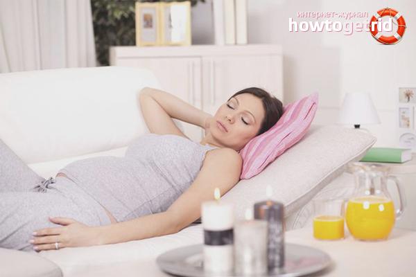 Отдых и витамины при насморке