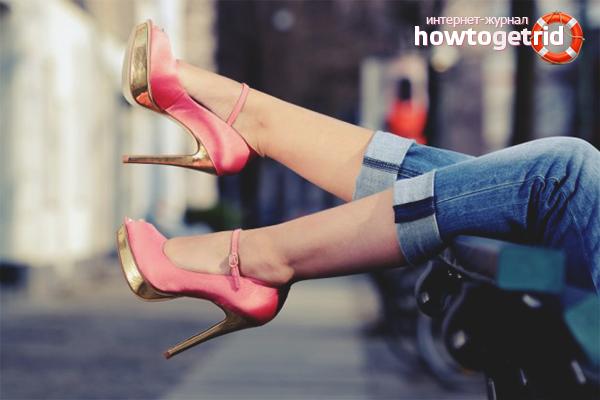 Практических рекомендаций ходьбы на каблуках