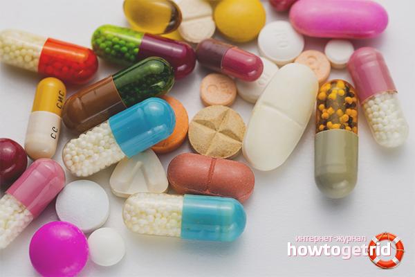 С чем принимать антибиотики