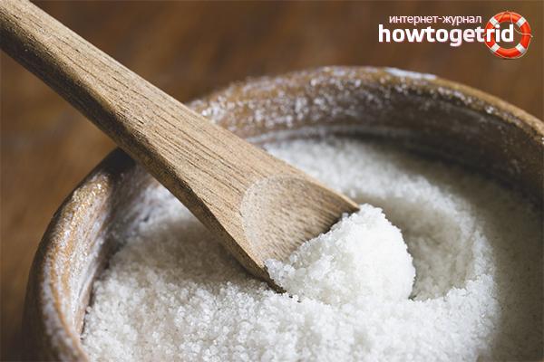 Соль для чистки замши