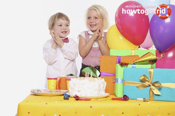 Как устроить праздник ребенку на день рождения