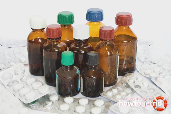 Аптечные средства от отёков