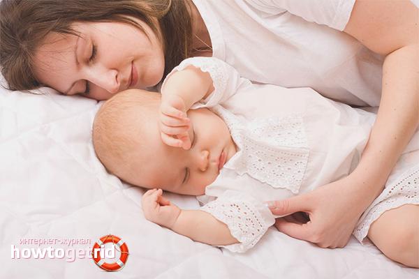 Как отучить ребенка спать с мамой
