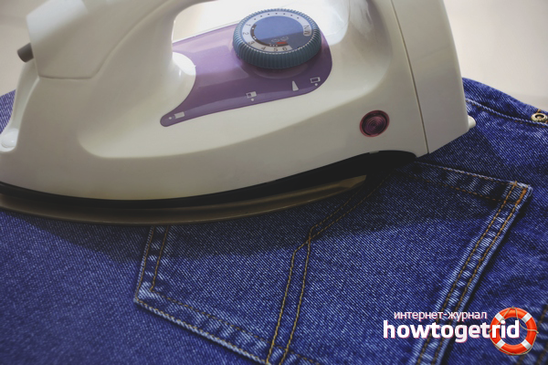 Как правильно гладить джинсы: полезные советы