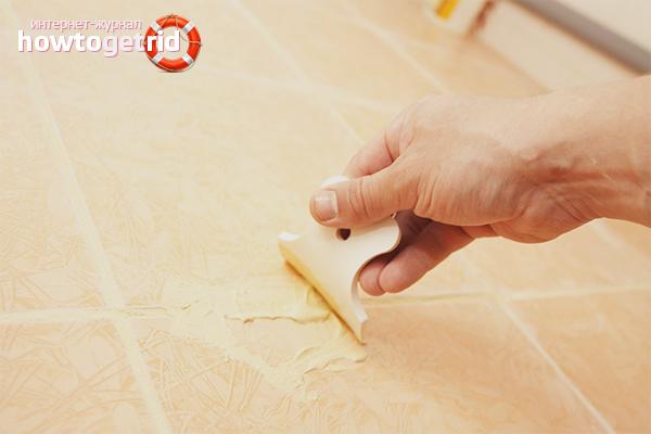 Как правильно затирать швы на плитке